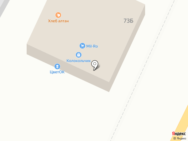 Пивной маркет на карте Бийска