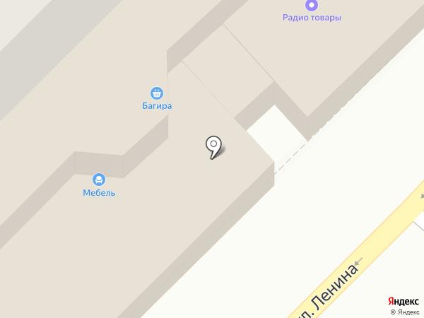 Багира на карте Бийска