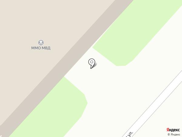 Бийское на карте Бийска