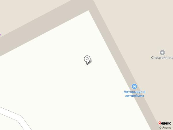 Компания по аренде крана-манипулятора на карте Бийска