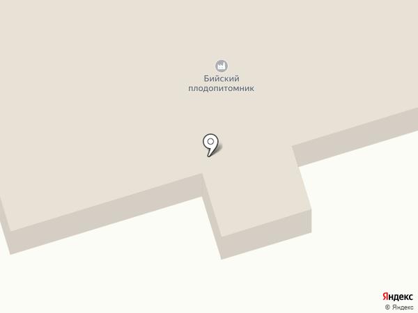 Исида на карте Бийска
