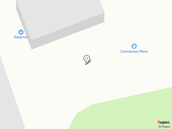 Квартал на карте Бийска