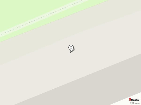 Заречное на карте Бийска