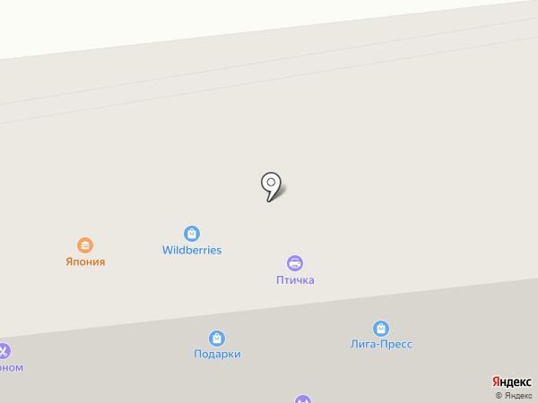 Семь-Я на карте Бийска