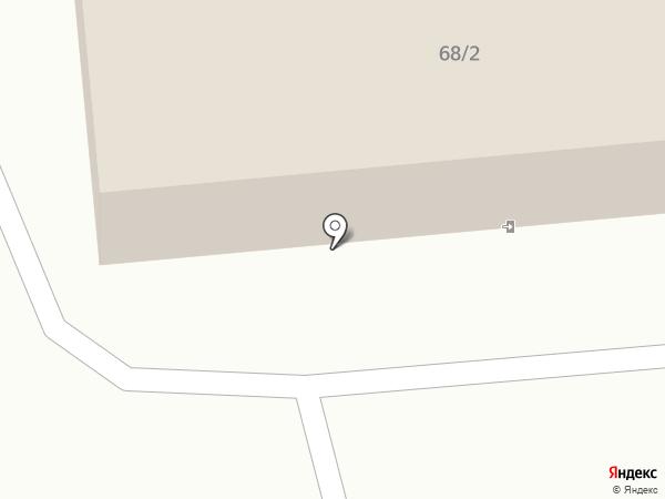Почтовое отделение №4 на карте Бийска