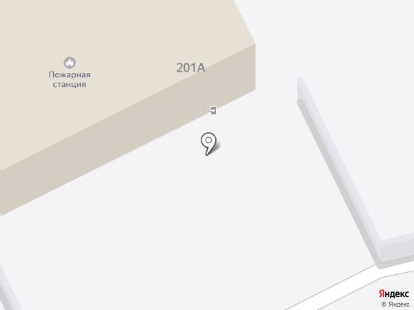Лесная пожарная станция на карте Бийска