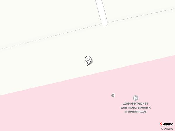 Бийский дом-интернат для престарелых и инвалидов на карте Бийска