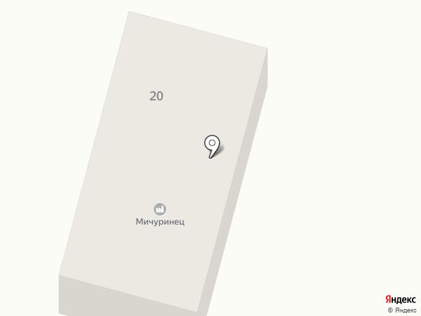 Мичуринец на карте Алтайского