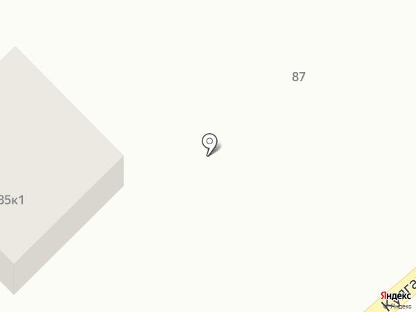 Дилижанс на карте Алтайского