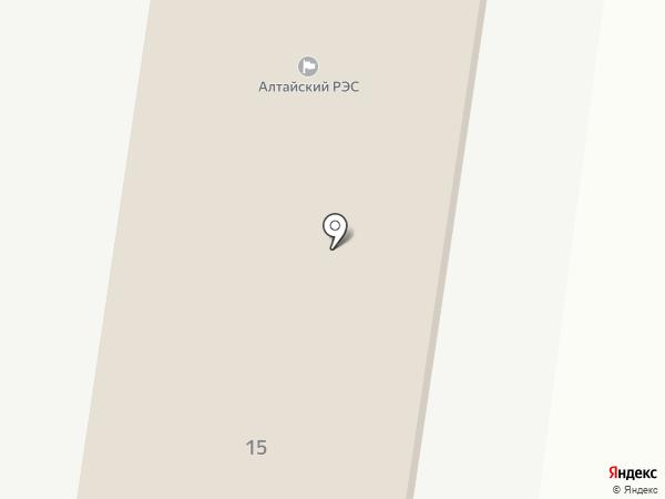 Алтайэнергосбыт на карте Алтайского