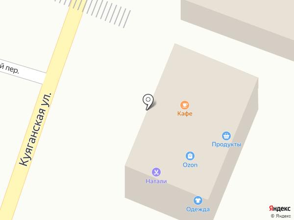Продуктовый магазин на карте Алтайского