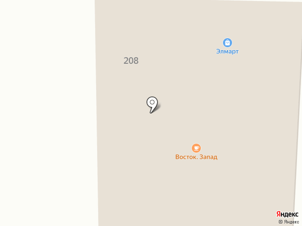 Эл-Март на карте Алтайского