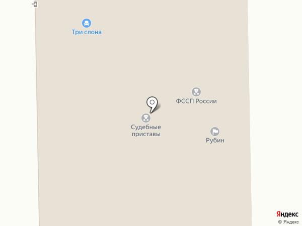Рубин на карте Алтайского