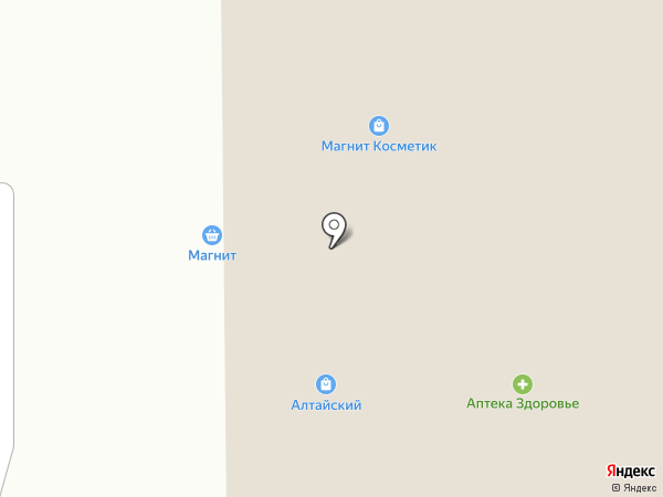 Фантазия на карте Алтайского