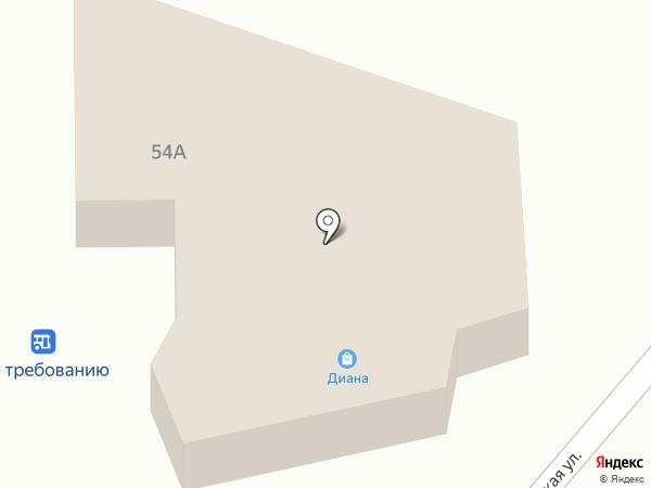 Диана на карте Алтайского