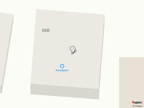 Комфорт на карте Алтайского