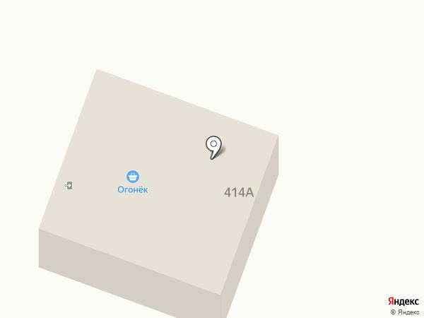 Огонёк на карте Алтайского
