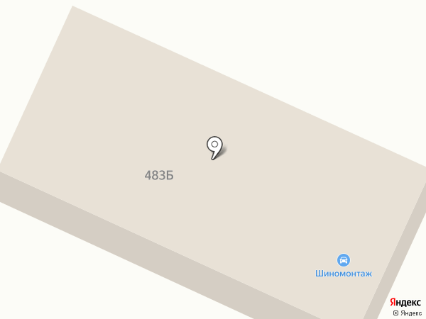 Крис на карте Алтайского