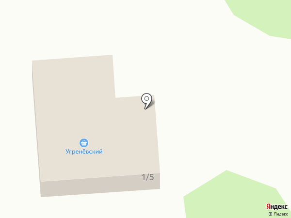 Угренёвский на карте Бийска