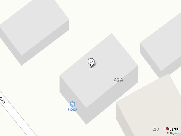 Лора на карте Верха-Катунского