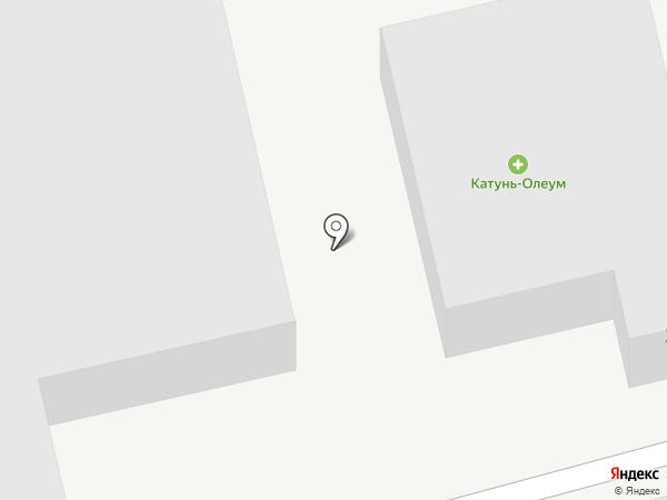 Катунь-Олеум на карте Советского