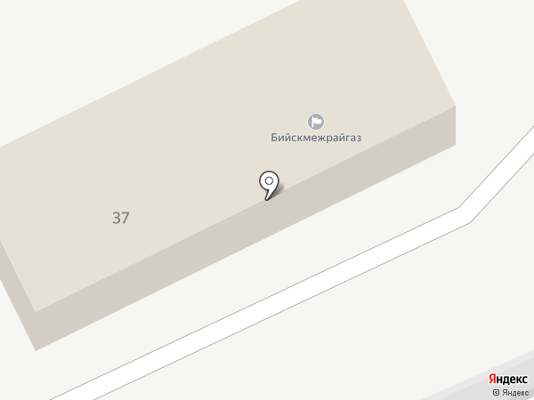 Бийскмежрайгаз на карте Советского