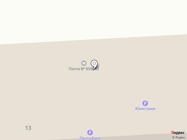 Почтовое отделение на карте Советского