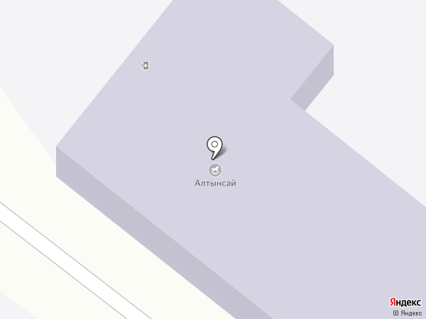 Алтынсай на карте Шебалино
