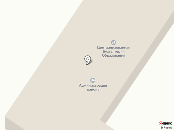 Администрация Шебалинского района на карте Шебалино