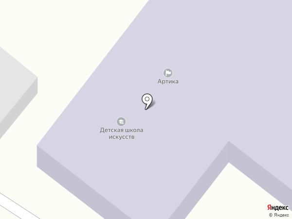 Парикмахерская на карте Шебалино
