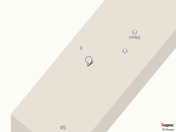 Участковый пункт полиции на карте Шебалино