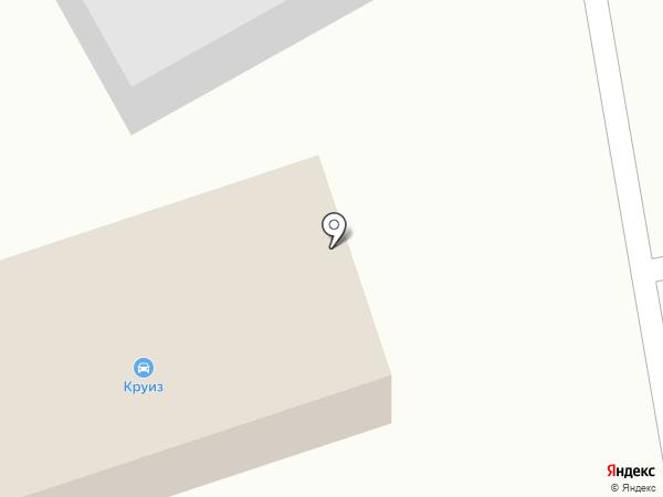 Автокомплекс на карте Шебалино
