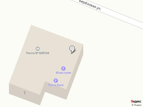 Отделение почтовой связи на карте Усть-Мун