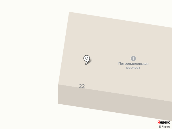 Храм Первоверховных Апостолов Петра и Павла на карте Салаира