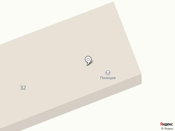 Участковый пункт полиции на карте Салаира