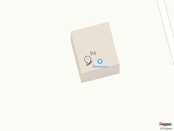 Аннушка на карте Аи