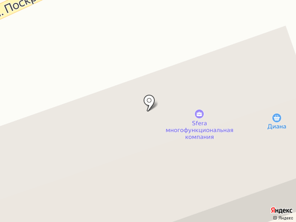 Диана на карте Салаира