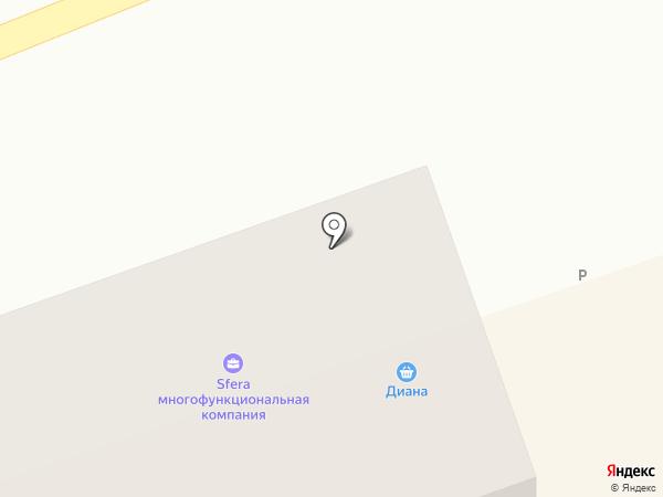 Диана+ на карте Салаира