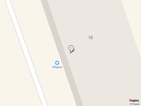 Мария на карте Салаира