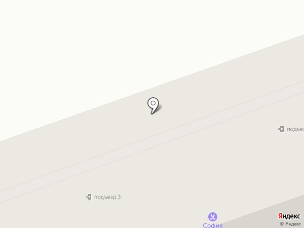 Мотылёк на карте Салаира