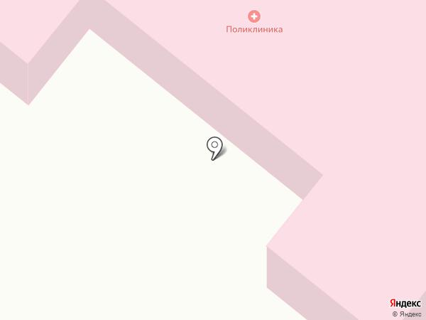 Детская поликлиника №2 на карте Салаира