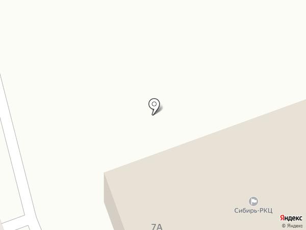 Расчетно-кассовый центр на карте Салаира
