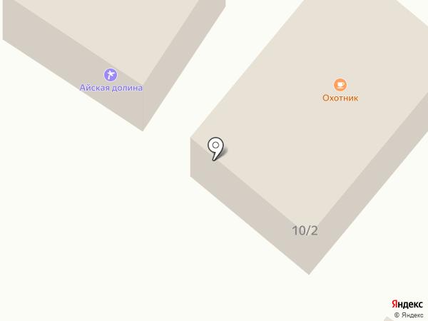 Охотник на карте Катуни