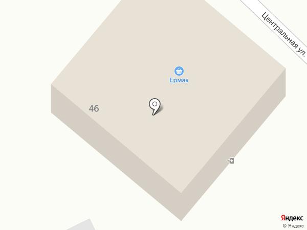 Ермак на карте Катуни