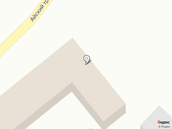 Белый шаман на карте Катуни