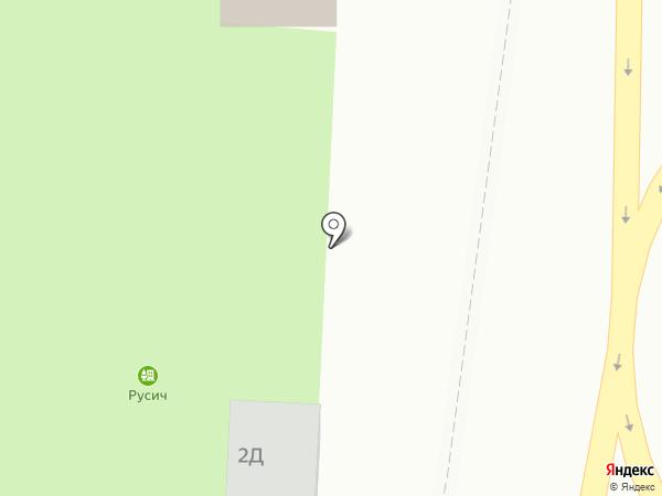 Киоск фастфудной продукции на карте Катуни