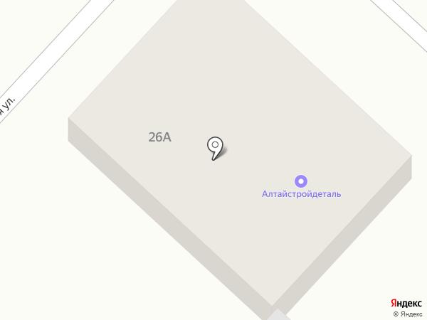 АлтайСтройДеталь на карте Маймы