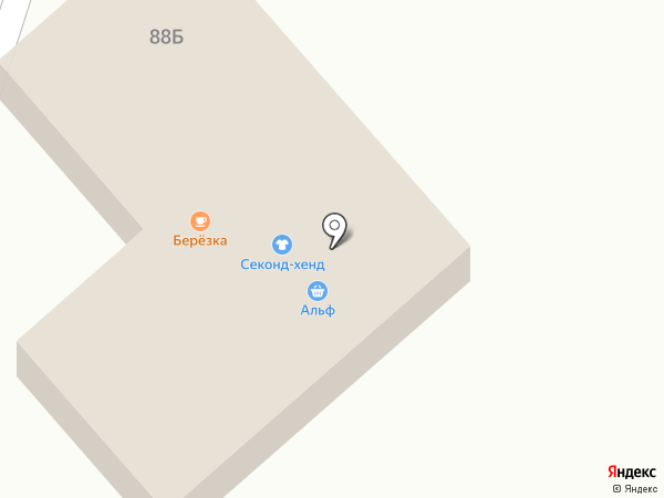 Берёзка на карте Маймы