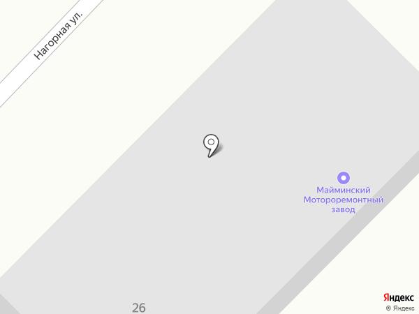 Дарья на карте Маймы