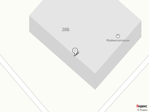 ТАЛЕКС на карте Маймы